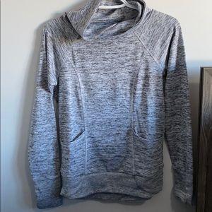 90 degree grey sweater